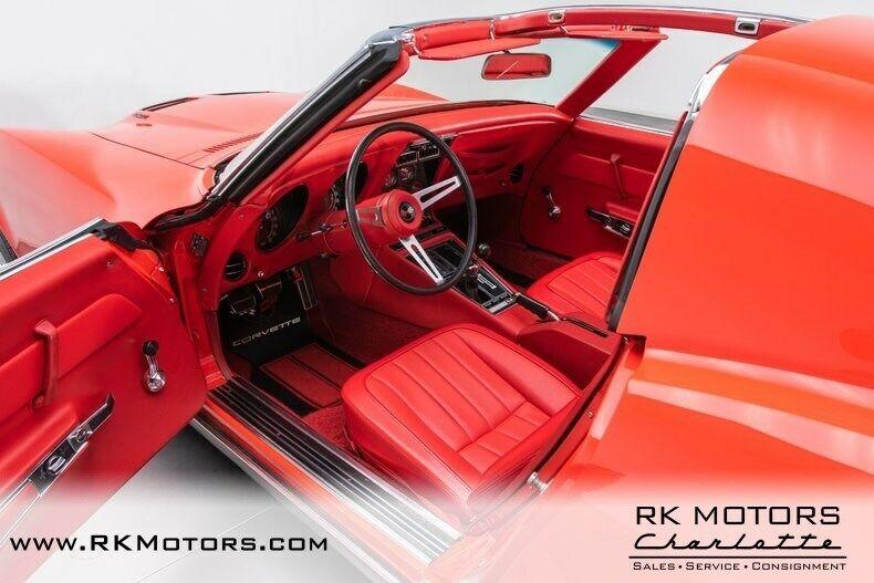 1969 Red Chevrolet Corvette   | C3 Corvette Photo 3