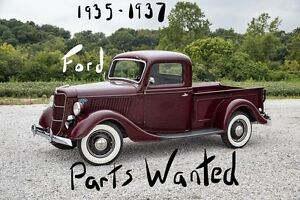 *WANTED* 1935-1937 Ford pickup parts