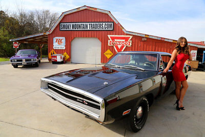 1970 Dodge Charger  1970 Dodge Charger V Code 440 Six Pack #s Matching Block 1 of only 4 in Black