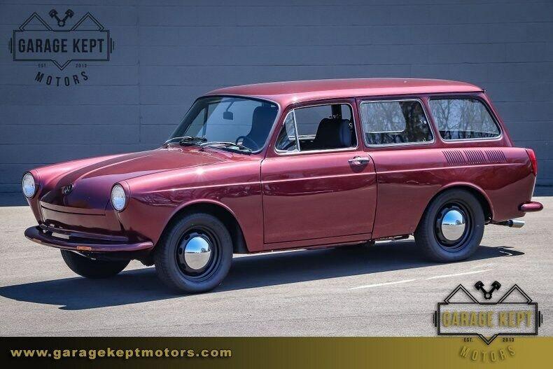 1968 Volkswagen Type 3 Squareback Dark Cherry Metallic Station Wagon 1600cc 4-Cy