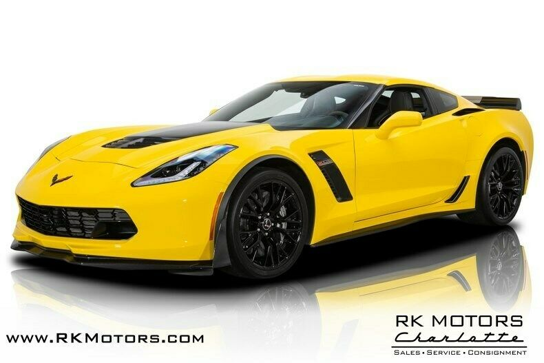 2015 Yellow Chevrolet Corvette Z07 3LZ | C7 Corvette Photo 1