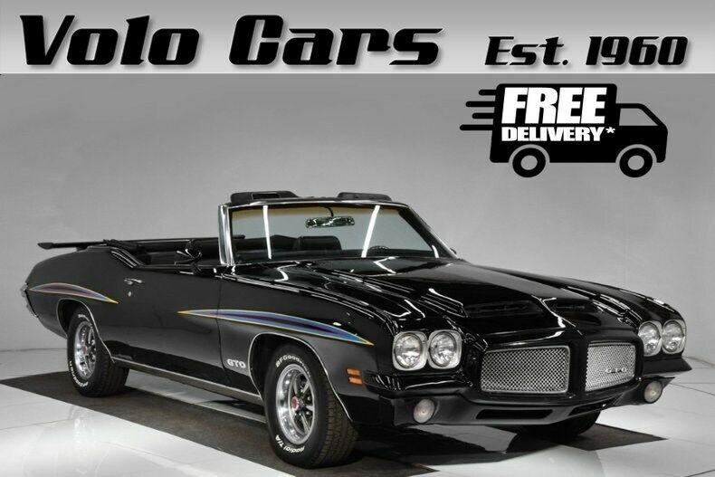 Image 1 Voiture Américaine de collection Pontiac GTO 1971