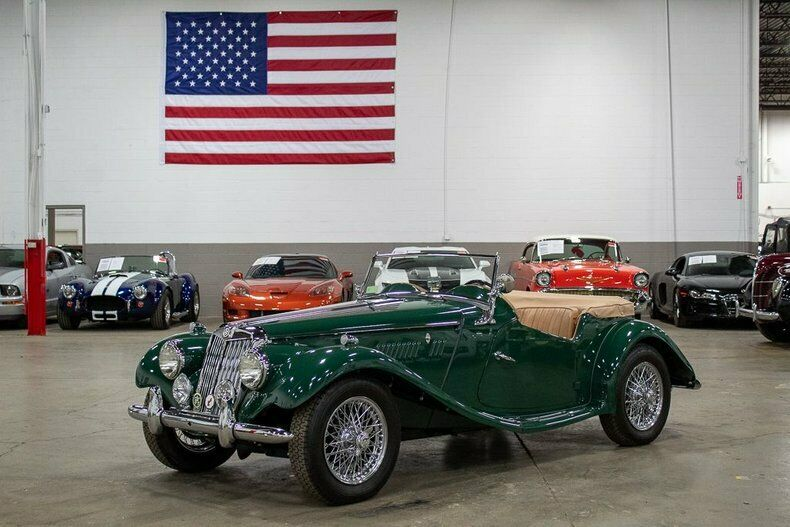 1954 MG TF  47924 Miles Green  1250cc 4 Cylinder 4-Speed Manual