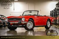 Miniature 1 Voiture American classic Triumph TR-6 1975