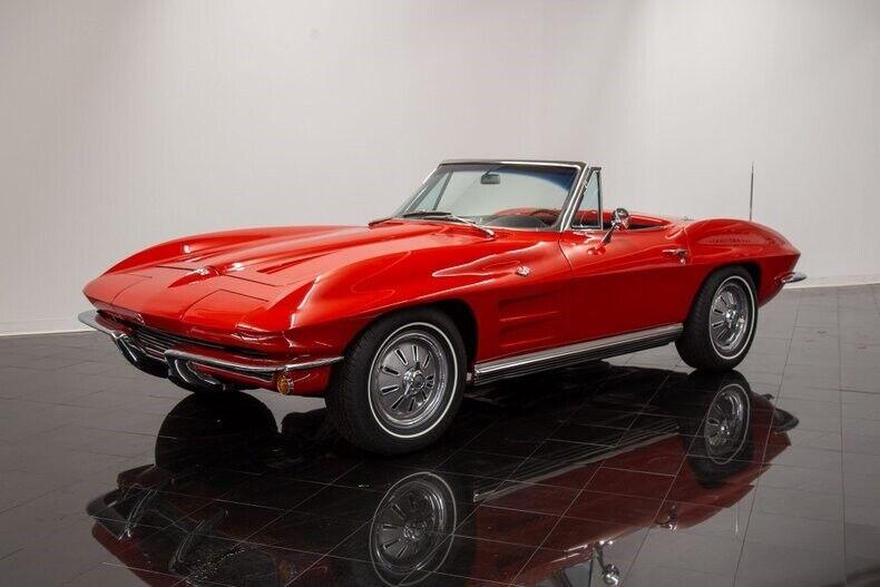 1964 Red Chevrolet Corvette Convertible  | C2 Corvette Photo 1