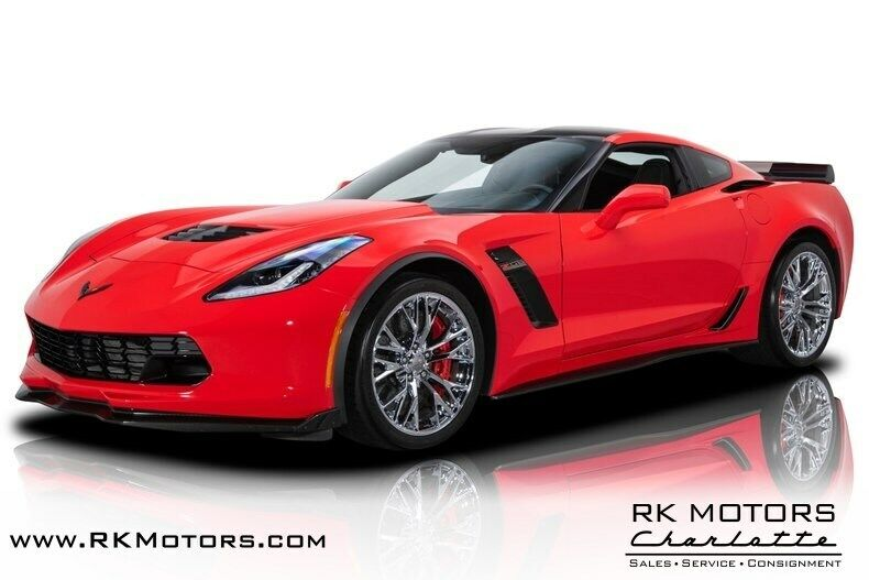 2015 Red Chevrolet Corvette Z07 3LZ | C7 Corvette Photo 1
