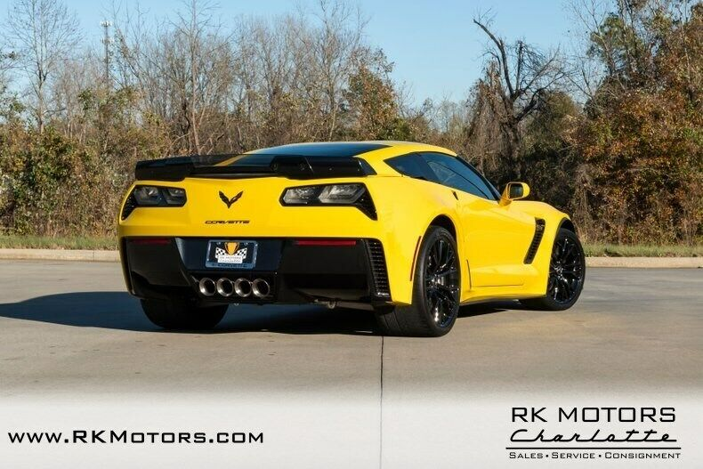 2015 Yellow Chevrolet Corvette Z07 3LZ | C7 Corvette Photo 4