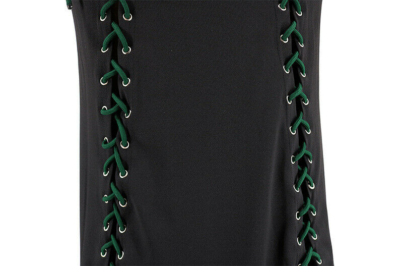 Black Red Green Bodycon Party Night-Club Dress 4