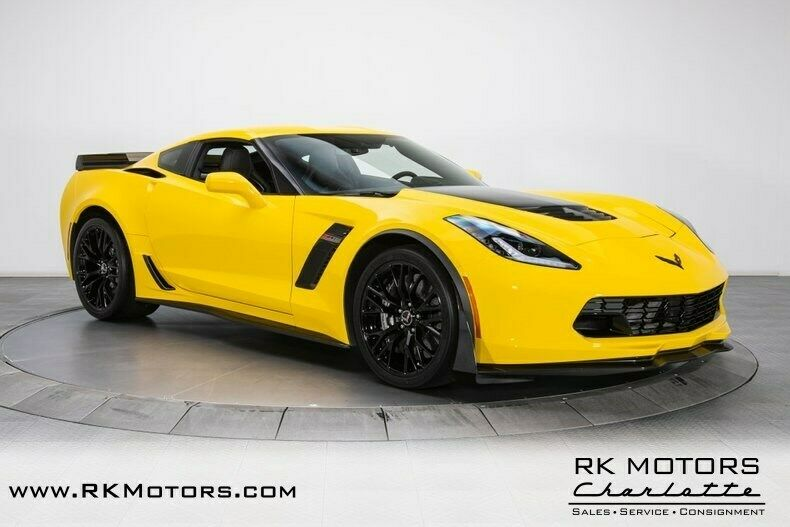2015 Yellow Chevrolet Corvette Z07 3LZ | C7 Corvette Photo 9