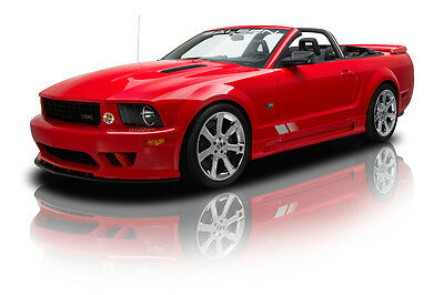 Ford : Mustang S281 Extreme Saleen S281 Extreme Convertible Supercharged 6 Speed