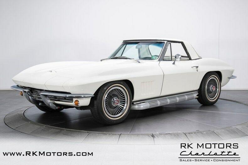 1967 White Chevrolet Corvette   | C2 Corvette Photo 8