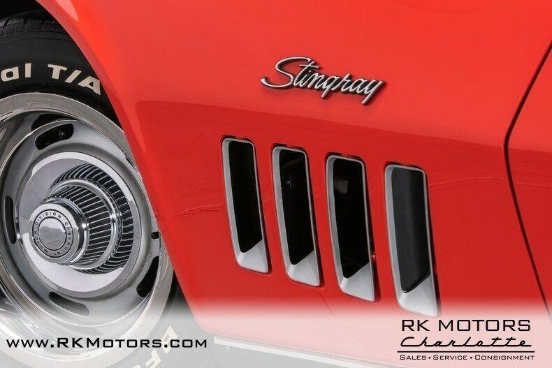 1969 Red Chevrolet Corvette   | C3 Corvette Photo 6
