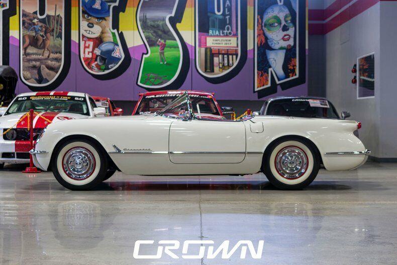 1954 White Chevrolet Corvette   | C1 Corvette Photo 5
