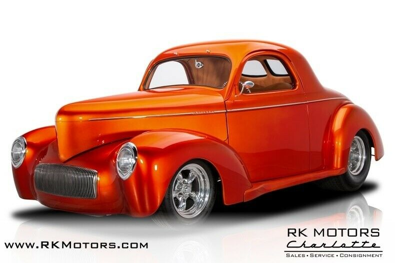 1940 Willys Americar Coupe 1940 Willys Americar Coupe Orange Pearl Metallic Coupe 383 V8 4 Speed Automatic