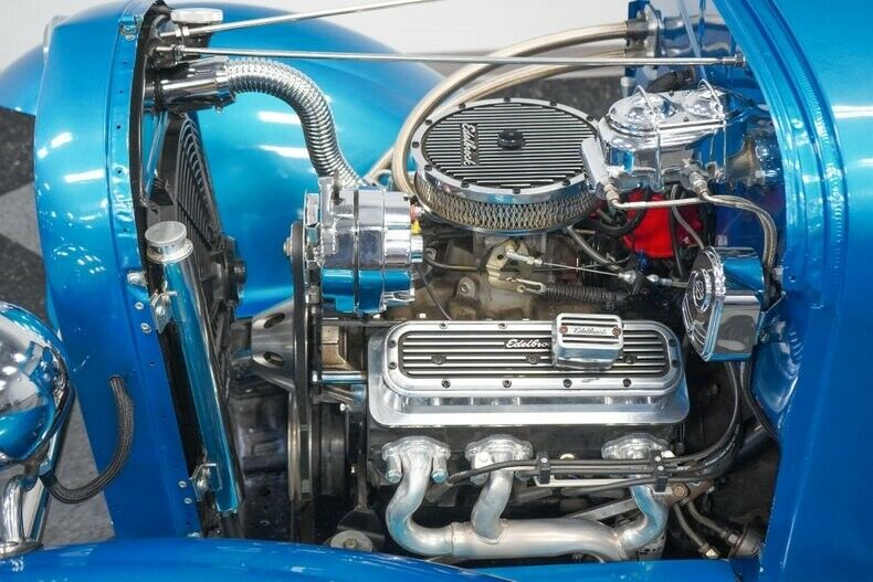 Custom V6 Injected Auto Classic Vintage Collector Hot Rod Bilstein Silver