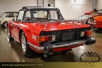 Miniature 12 Voiture American classic Triumph TR-6 1975