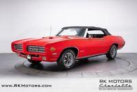 Miniature 8 Voiture Américaine de collection Pontiac GTO 1969