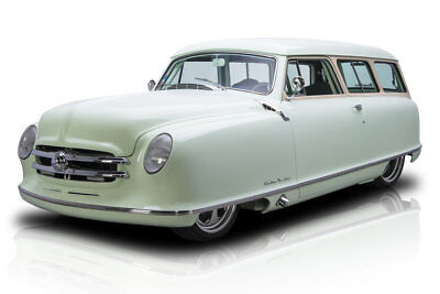 1952 Nash Rambler -- 1952 Nash Rambler  3298 Miles Surf Green Station Wagon LT1 350 V8 4 Speed Automa