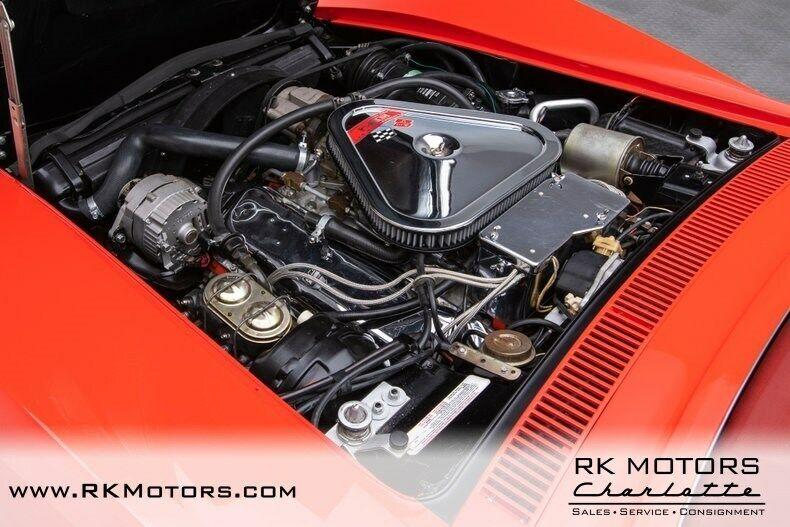1969 Red Chevrolet Corvette   | C3 Corvette Photo 4