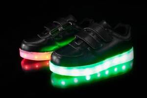 BRAND NEW LED KIDS SHOES! GREAT QUALITY rechargeable/incl charge
