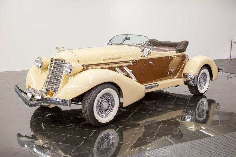 1936 Auburn 876 Roadster Boattail Phaeton by California Custom Coach Automatic 4