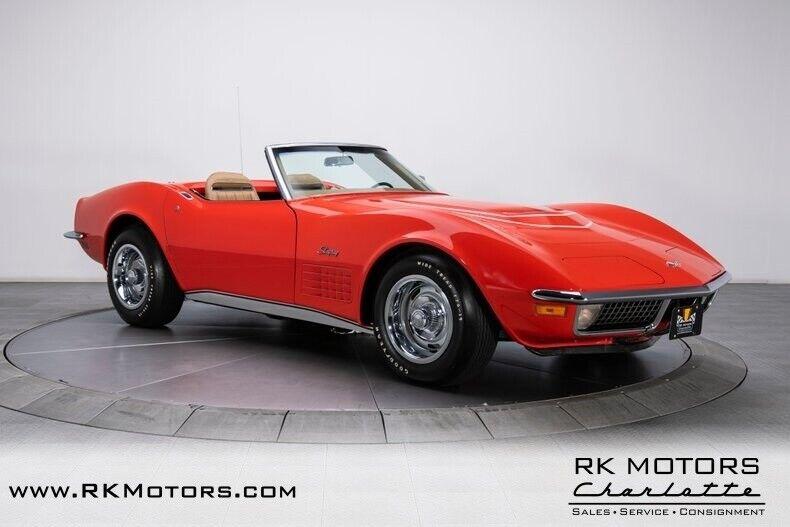 1970 Red Chevrolet Corvette  1LT   C3 Corvette Photo 9