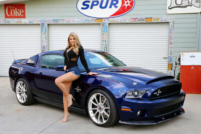 2010 Ford Shelby GT500 Super Snake Kenne Bell Super Charger Less Than 400 Miles
