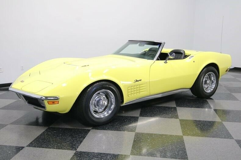 1970 Yellow Chevrolet Corvette Convertible  | C3 Corvette Photo 7