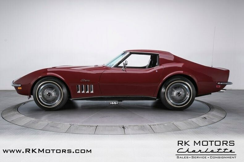 1969 Burgundy Chevrolet Corvette   | C3 Corvette Photo 10