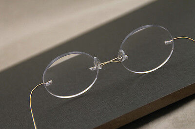Designer Near Sight Glasses Titanium Rimless Frame ADD -1.0 to -6.0 Myopia (Add Lenses To Frames)