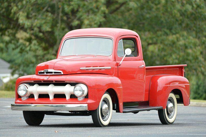 1951 Ford F1 Flathead V8 -complete restauration!
