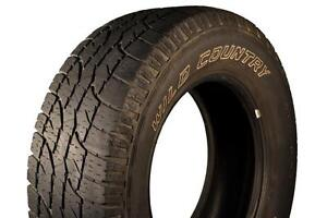 Single Tire for Sale; size 285 70 R17; Wild Country brand