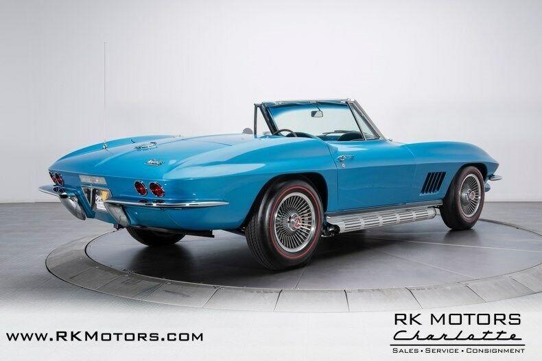 1967 Blue Chevrolet Corvette   | C2 Corvette Photo 2