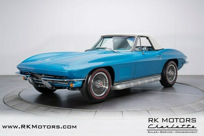1967 Blue Chevrolet Corvette   | C2 Corvette Photo 8