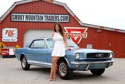 1966 Ford Mustang C Code Coupe Correct 289 C4 Trans 8