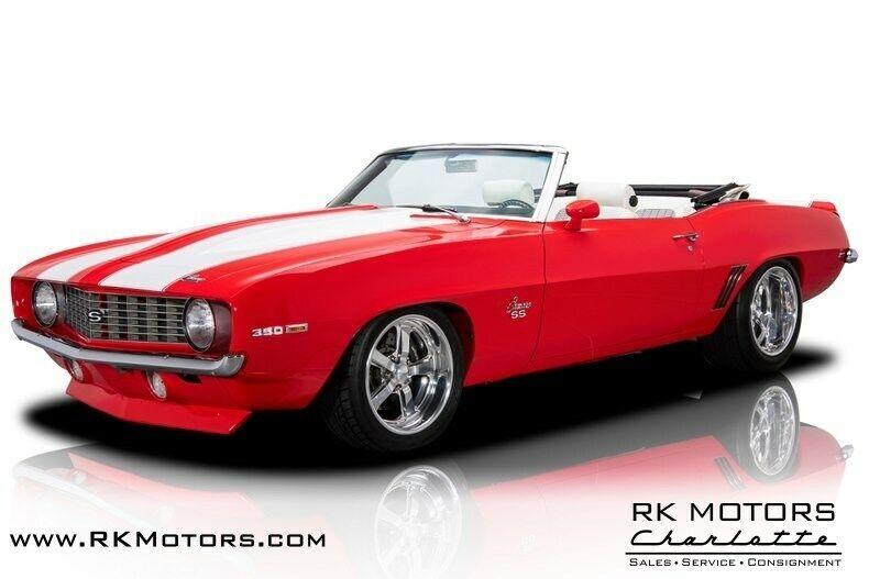 1969 Chevrolet Camaro SS Viper Red Convertible LS1 5.7 Liter V8 6 Speed Manual