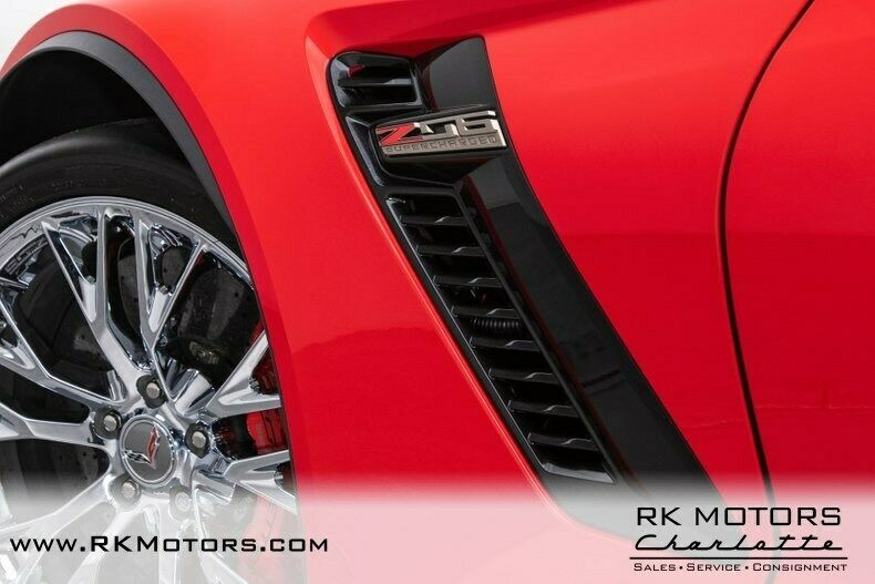 2015 Red Chevrolet Corvette Z07 3LZ | C7 Corvette Photo 8