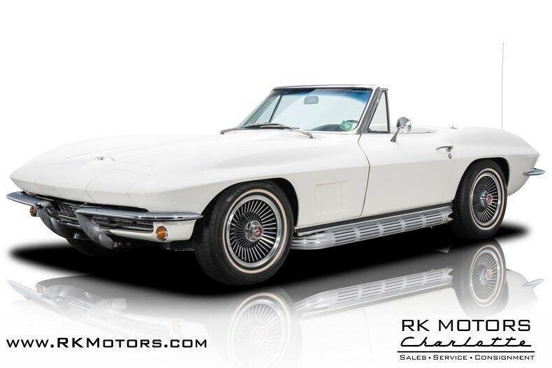 1967 White Chevrolet Corvette   | C2 Corvette Photo 1