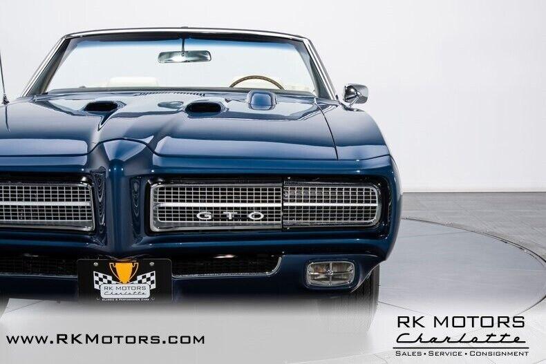 Image 24 Voiture Américaine de collection Pontiac GTO 1969