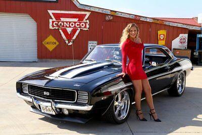 1969 Chevrolet Camaro  1969 Chevy Camaro Rs Yenko 427 12 Bolt Posi Ps Pdb Disc Brakes Tribute