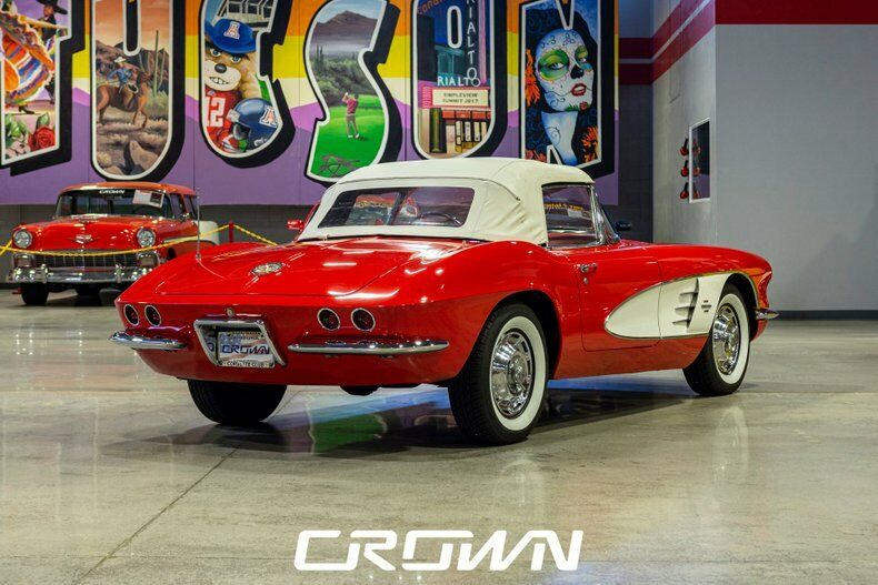 1961 Red Chevrolet Corvette   | C1 Corvette Photo 3