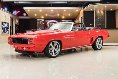 1969 Red Chevrolet Camaro  Convertible Restomod | First Generation Camaro Photo 1