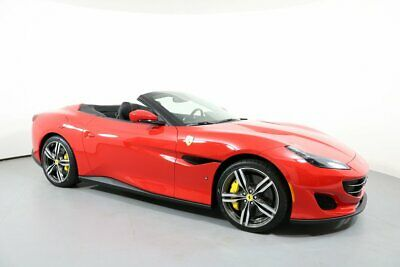 2019 Ferrari Portofino Coupe 2019 Ferrari Portofino Coupe 146 Miles Rosso Corsa Convertible 8 Cylinder Engine