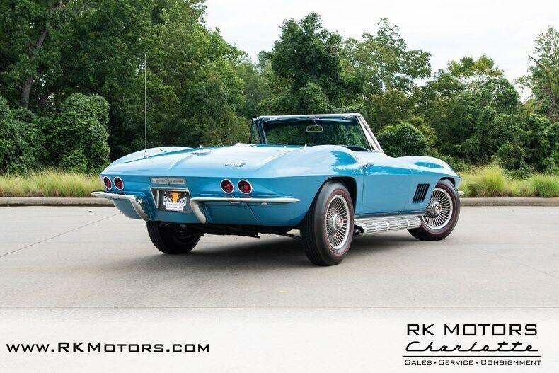1967 Blue Chevrolet Corvette   | C2 Corvette Photo 4