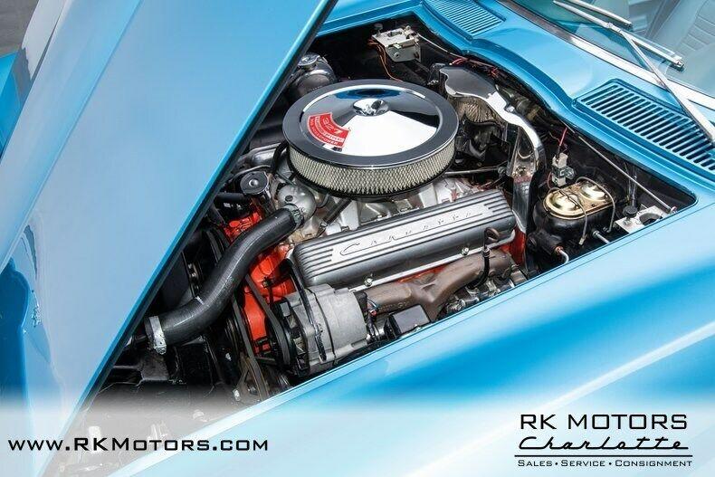 1967 Blue Chevrolet Corvette   | C2 Corvette Photo 6
