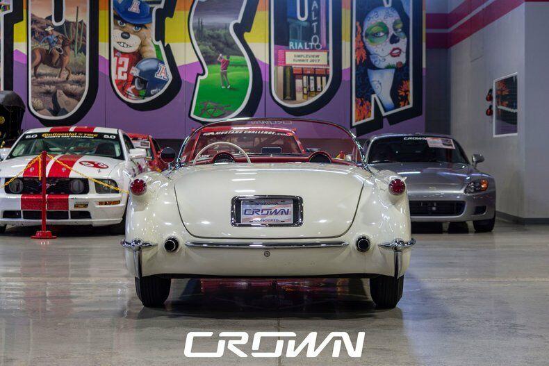 1954 White Chevrolet Corvette   | C1 Corvette Photo 4