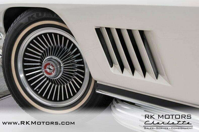 1967 White Chevrolet Corvette   | C2 Corvette Photo 6