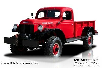 1952 Dodge Power Wagon  1952 Dodge Power Wagon  Red Pickup Truck