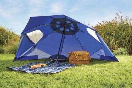 Coolaroo Multibrella / Beach Umbrella u0026 half a tent & HALF PRICE: Chillout Stakeless Beach Tent. | Camping u0026 Hiking ...