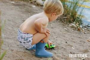Thirsties 6 Pack - Cute Cloth Diapers for Your Baby's Health!